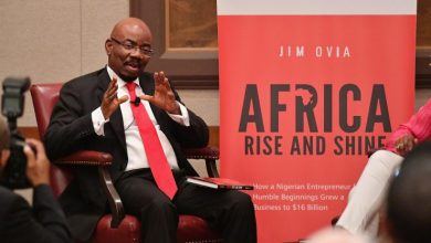Photo of AFRICA RISE AND SHINE a book by Jim Ovia