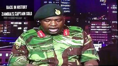 Back in History-Zambia's Captain Solo