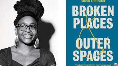 "Photo of Nnedi Okorafor's Book ""Broken Places & Outer Spaces"" Is Finally In Stores."